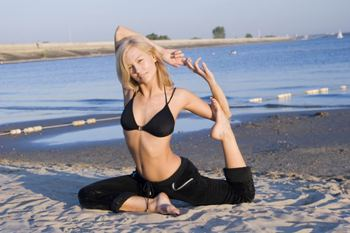 Гамак для йоги бу